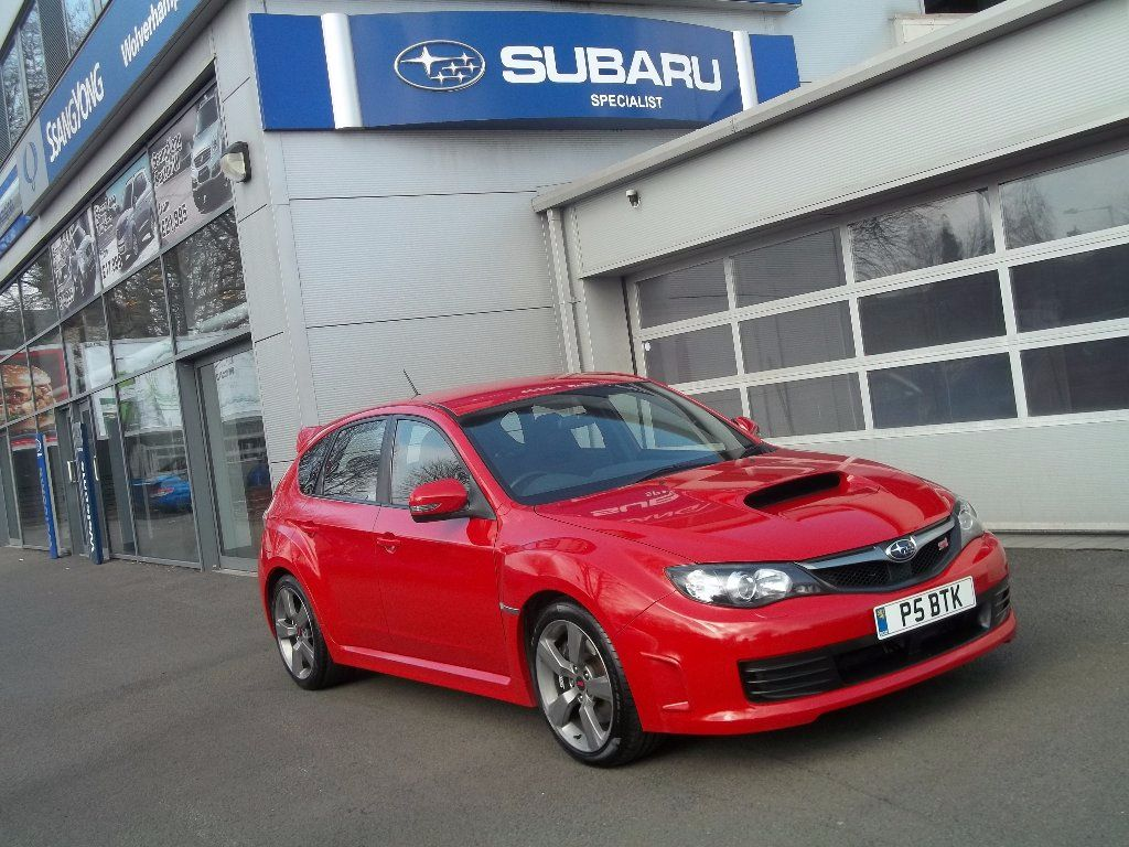 Subaru Impreza 2.5 WRX STI Type UK 5dr Hatchback Petrol Red at Bunning Garages Wolverhampton