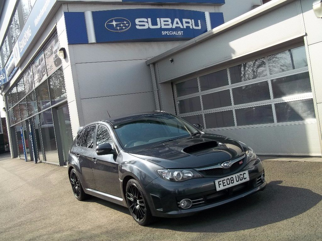 Subaru Impreza 2.5 WRX STI Type UK 5dr Hatchback Petrol Grey at Bunning Garages Wolverhampton