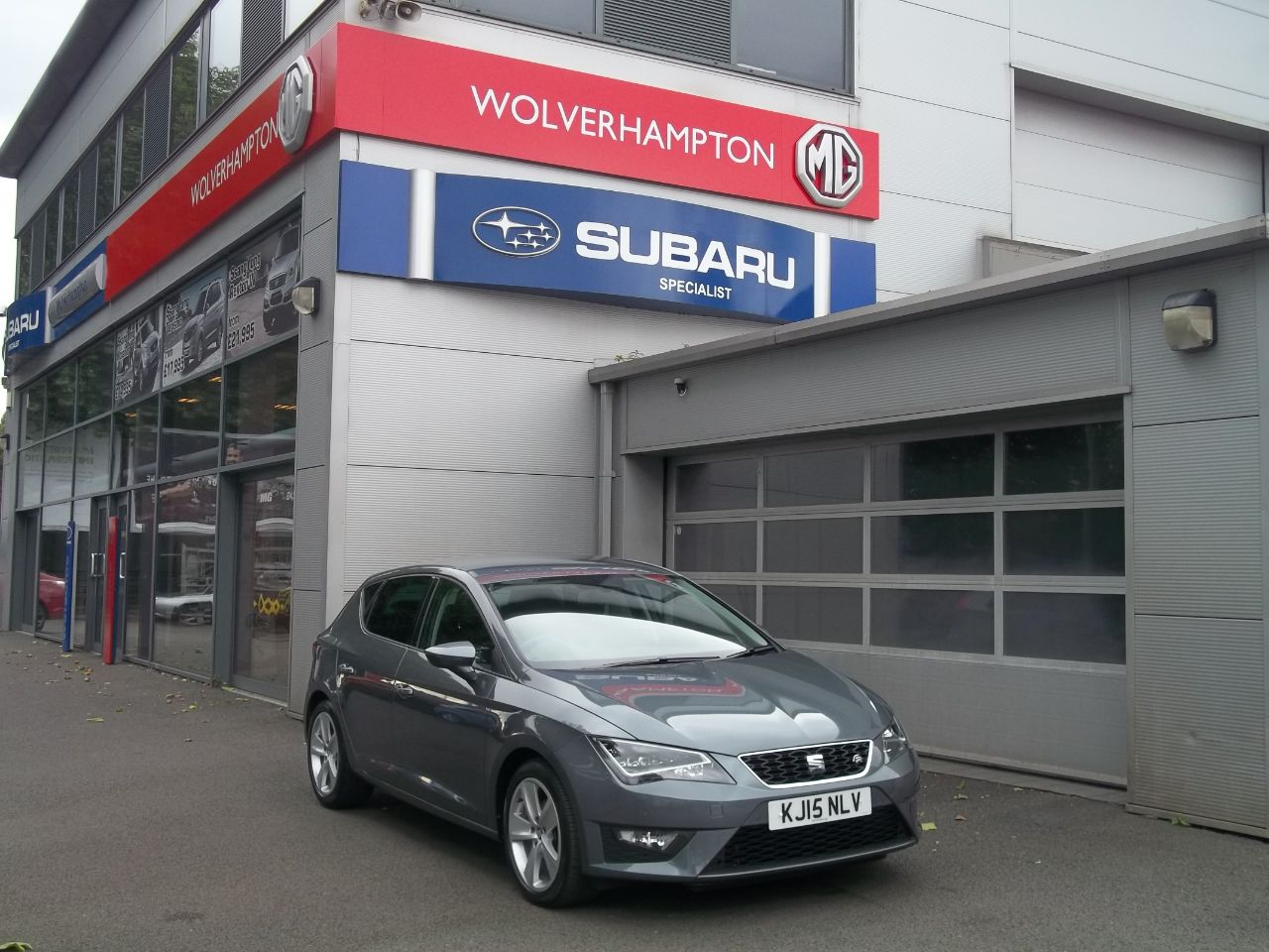 Seat Leon 2.0 TDI FR 5dr [Technology Pack] Hatchback Diesel Grey at Bunning Garages Wolverhampton
