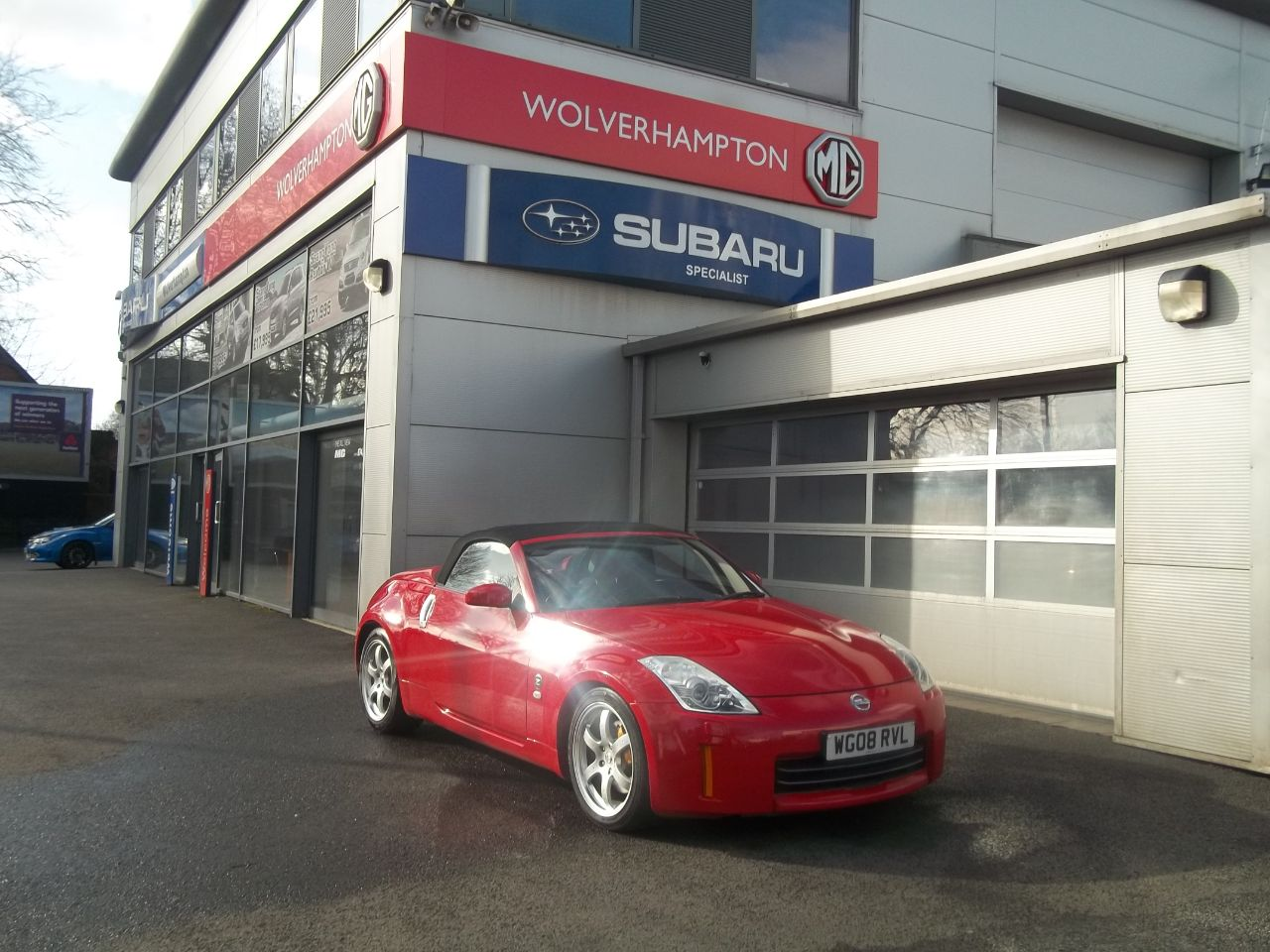 Nissan 350Z 3.5 V6 313 GT 2dr Convertible Petrol Red at Bunning Garages Wolverhampton