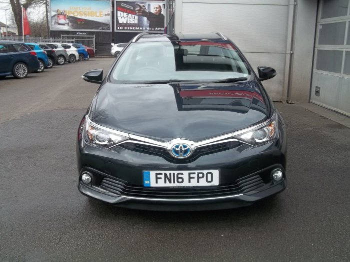 Toyota Auris 1.8 Hybrid Business Edition 5dr CVT Estate Petrol / Electric Hybrid Grey