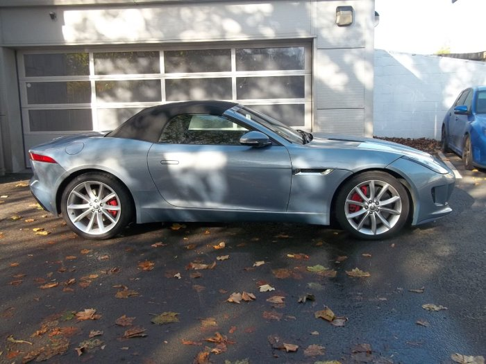 Jaguar F-type 3.0 Supercharged V6 S 2dr Auto Convertible Petrol Grey