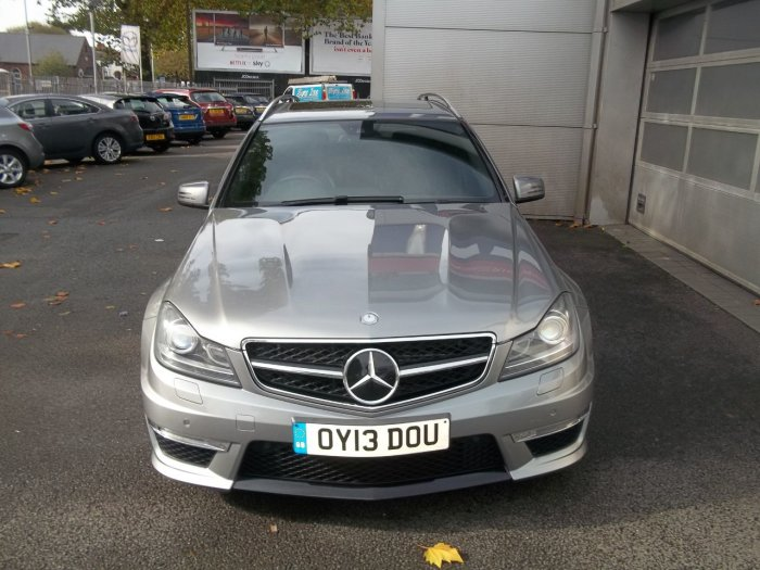 Mercedes-Benz C Class 6.2 C63 5dr Auto Estate Petrol Silver